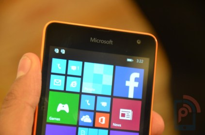 Microsoft Lumia 535 Front Top